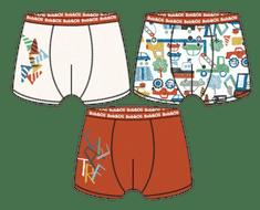 Bob&Oli 3pack chlapeckých boxerek z organické bavlny 67B602 92 viacfarebná