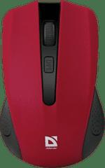 Defender Brezžična optična miška Accura MM-935 rdeča
