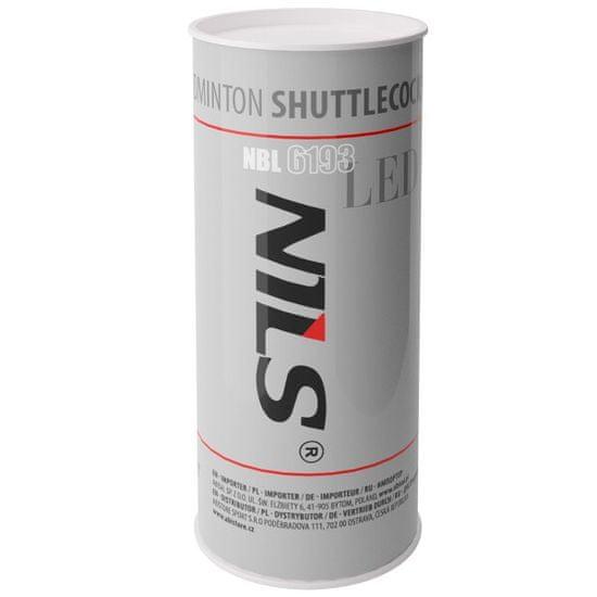 NILS bedmintonové loptičky s LED diódou NBL6193 3 ks