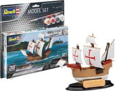 Revell Santa Maria model ladje, set za sestavljanje, easy-click, 1:350