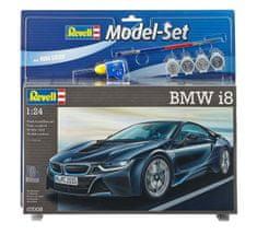 Revell BMW i8 model avtomobila, set za sestavljanje, 1:24