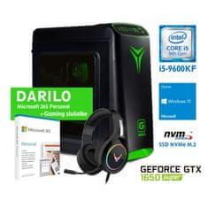 MEGA 4000S namizni računalnik (PC-G4539S) + DARILO: slušalke in Office365 Personal