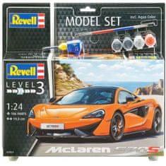 Revell McLaren 570S model avtomobila, set za sestavljanje, 1:24