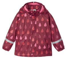 Reima 521507-3952 Koski dekliška dežna jakna, rdeča, 92