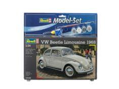 Revell VW Beetle Limousine 68 -B model avtomobila, set za sestavljanje, 1:24