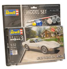 Revell Corvette C3 model avtomobila, set za sestavljanje, 1:32