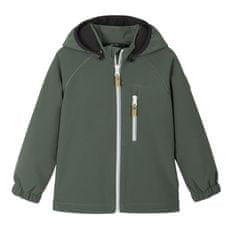 Reima 521569-8510 Vantti otroška softshell jakna, zelena, 80