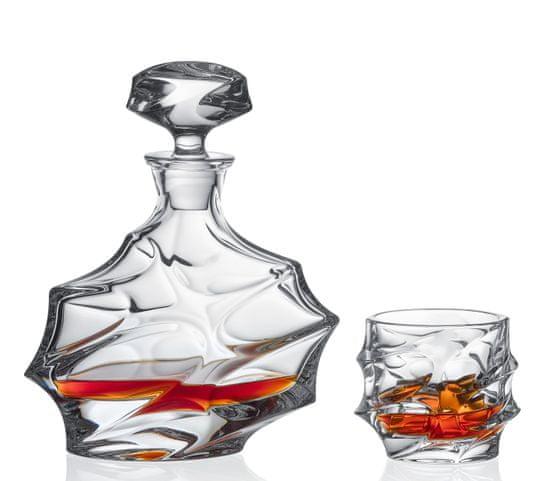 Bohemia Jihlava Bohemia Jihlava křišťálový whisky set Calypso 1+6