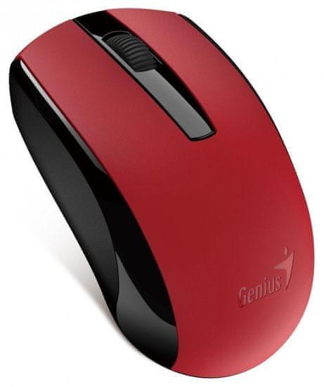 Genius ECO-8100, bezdrátová, červená (31030004403)