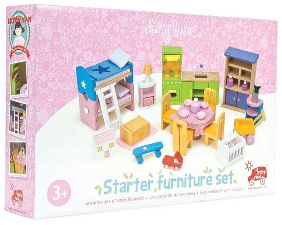 Le Toy Van Nábytok Starter kompletný set do domčeka