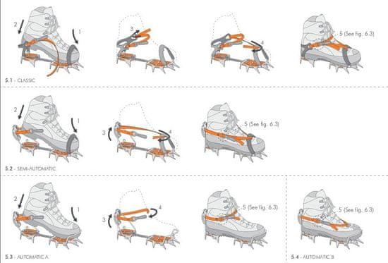 Climbing technology   Ice 36-46 Automatic