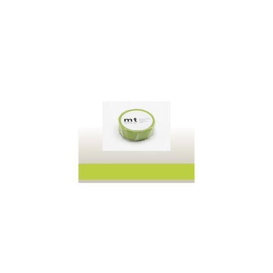 MT Masking Tape Washi páska 15mm, zelená