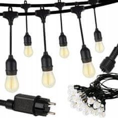 Svetelná reťaz 10m 20 LED žiaroviek