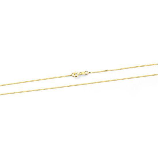 Beneto Exclusive Időtlen arany lánc Pancer AUS0009-G sárga arany 585/1000
