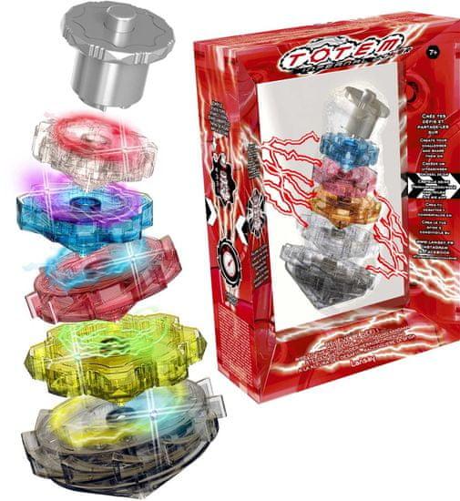 TM Toys gra Totem Infernal Power Wirujące Elektroniczne Pierścienie