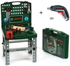 Klein Boscheva delovna miza v ohišju z akumulatorskim izvijačem
