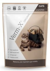 Verm-X Přírodní granule proti střevním parazitům pro kočky 120 g