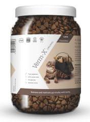 Verm-X Přírodní granule proti střevním parazitům pro kočky 1 kg