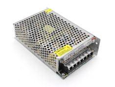 RX Corp RX-120-12 - zálohovaný spínaný zdroj 12V_10A, 120 W, ochrany, LED