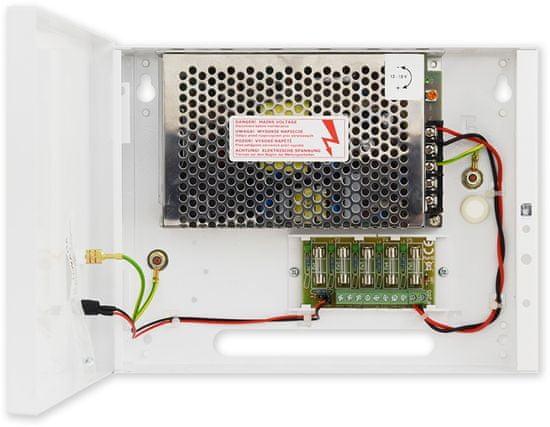 Pulsar PS-BOX-12V5A5x1A - kamerový zdroj 12V / 5A / 5x1A v boxe