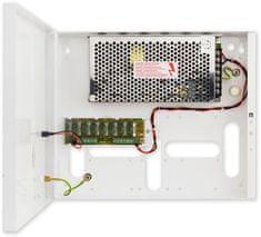 Pulsar PS-BOX-12V8A8x1A - kamerový zdroj 12V / 8A / 8x1A v boxe