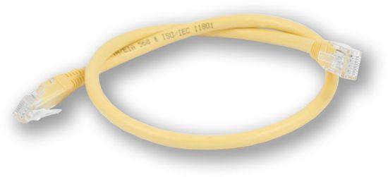 LAN-TEC PC-600 C6 UTP/0,5M - žlutá - propojovací (patch) kabel