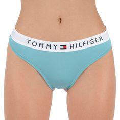 Tommy Hilfiger Dámská tanga modré (UW0UW01555 MSK) - velikost M
