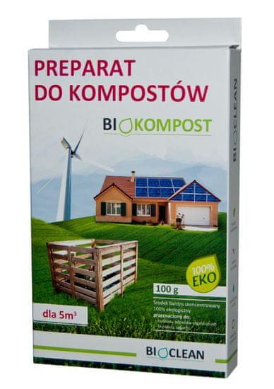 Bioclean Preparat do przyśpieszenie kompostów