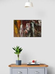 D&M ART POURING Abstract 2-39-3L 80x50 cm