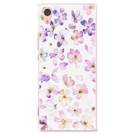 iSaprio Plastové pouzdro iSaprio - Wildflowers - Sony Xperia XA1