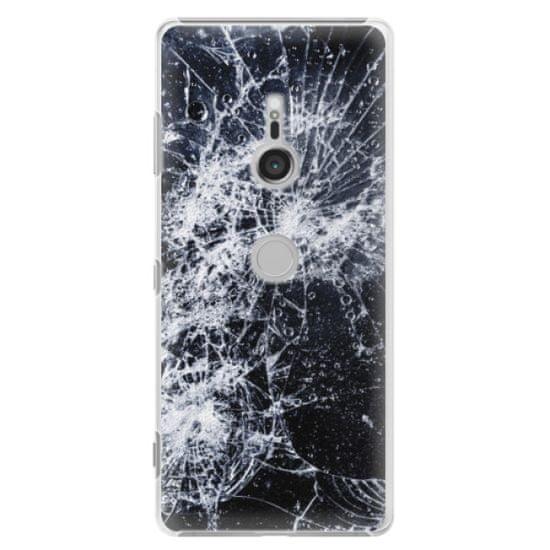 iSaprio Plastové pouzdro iSaprio - Cracked - Sony Xperia XZ3