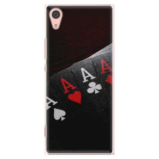 iSaprio Plastové pouzdro iSaprio - Poker - Sony Xperia XA1