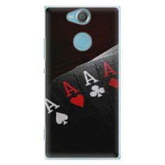 iSaprio Plastové pouzdro iSaprio - Poker - Sony Xperia XA2