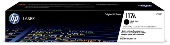 HP W2070A no. 117A, čierna (W2070A)