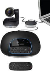 Logitech Skupina - videokonferenční sada, černá 960-001057