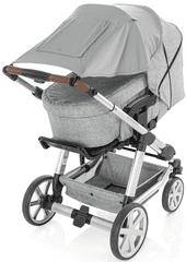 Reer Sluneční clona Premium na kočárek šedá