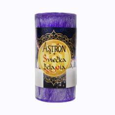 Astron Sviečka želania valec, fialová 590 g
