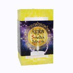 Astron Sviečka želania hranol, žltá 415 g