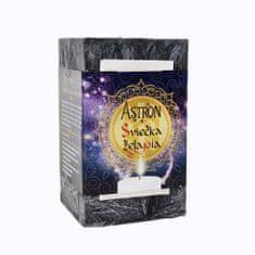 Astron Sviečka želania hranol, čierna 415 g