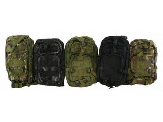 Vojaški turistični nahrbtnik 28 l - siva T-255-SE