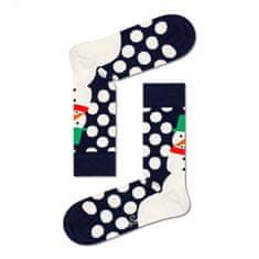 Happy Socks Ponožky Jumbo Snowman Sock (JSS01-6500) - velikost L