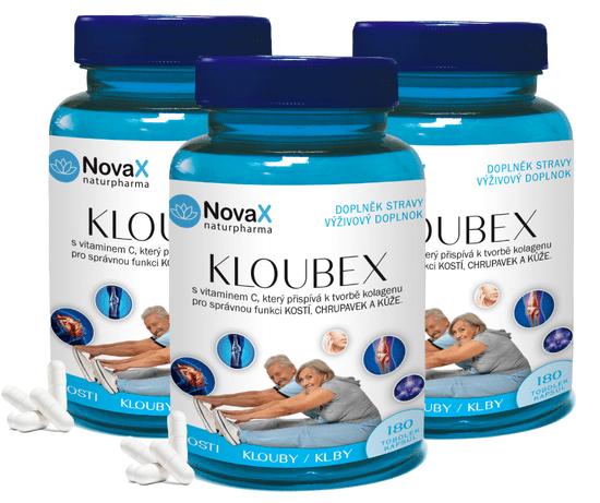 Novax 3x Kloubex 180 - prevaše kĺby, kosti, chrupavky