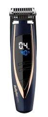BaByliss E879E vezeték nélküli szakállvágó, LED kijelző, 24 vágáshossz, Sötétkék