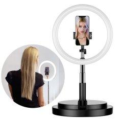 MG Selfie Ring kruhové LED svetlo, čierne
