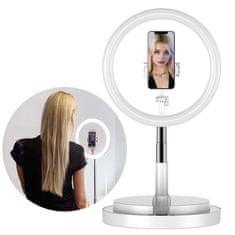 MG Selfie Ring kruhové LED světlo, biele