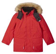 Reima Naapuri 531351-3880 otroška bunda, 158, rdeča
