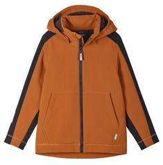 Reima Sipoo 531563-1490 fantovska softshell jakna, 134, rjava