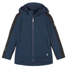 Reima Sipoo 531563-6980 fantovska softshell jakna, 116, temno modra