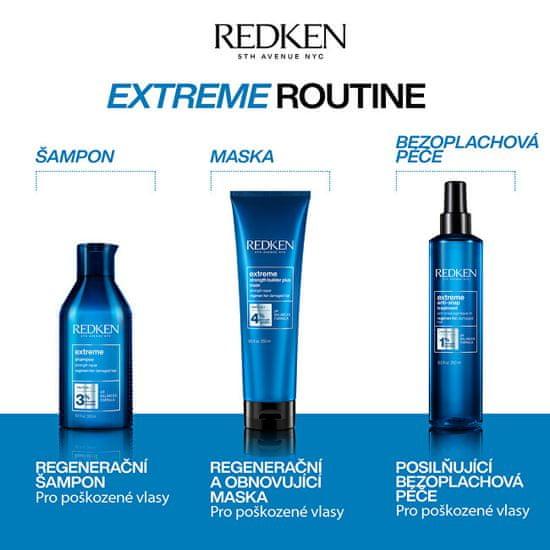 Redken Extreme (Anti-Snap Anti-Breakage Leave-In Treatment) intenzív öblítésmentes kezelés az érzékeny és s