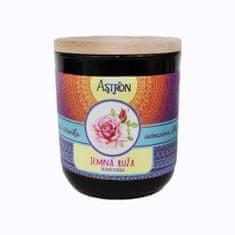 Astron Jemná ruža – sójová vonná sviečka, 190 g